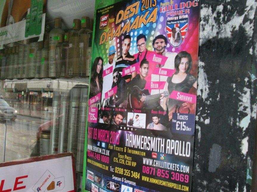 Publicatie Sadhana Lila 'Desi Dhamaka 2013'posters
