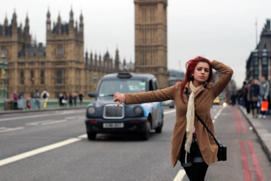 Fotoshoot Sadhana Lila met Hasnain Bayar in LondonEngeland