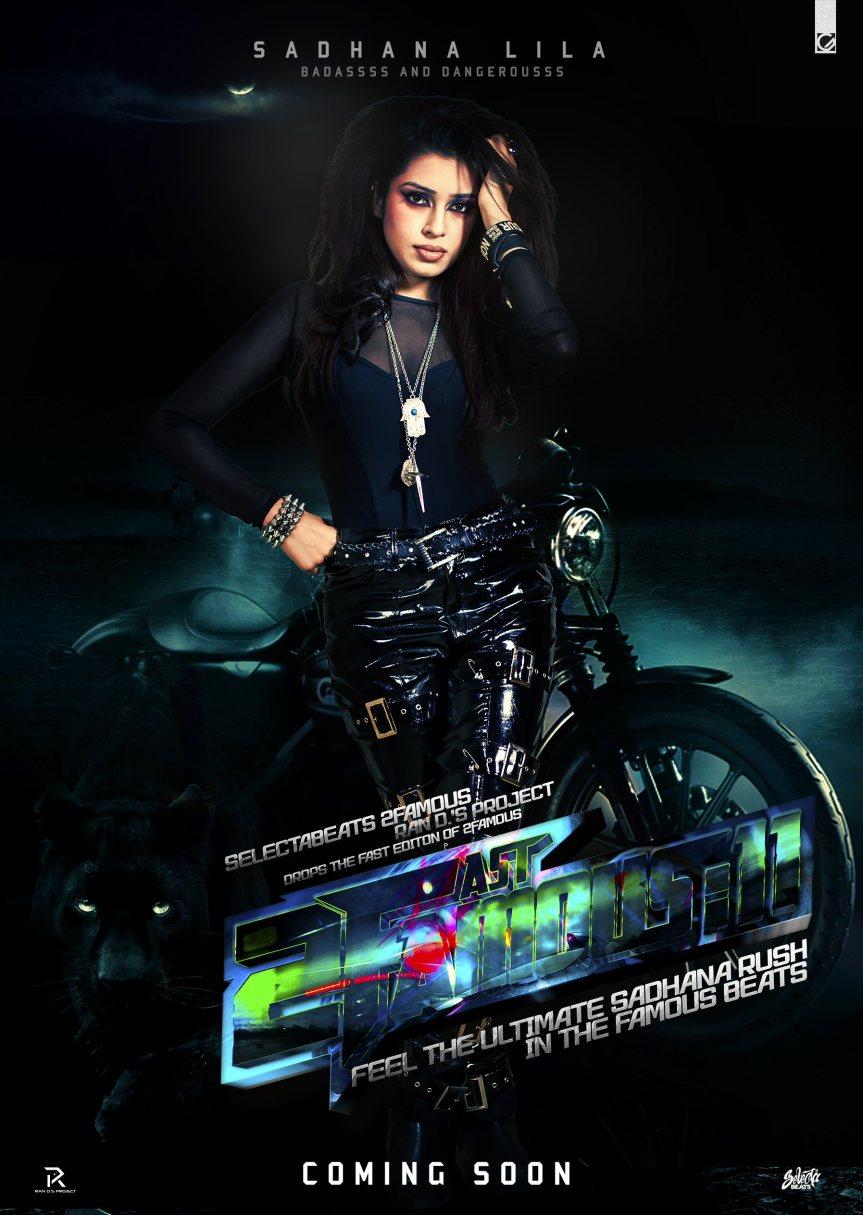 Publicatie Sadhana Lila '2FAMOUSCRW Hollandwali Girlfriend 2'poster