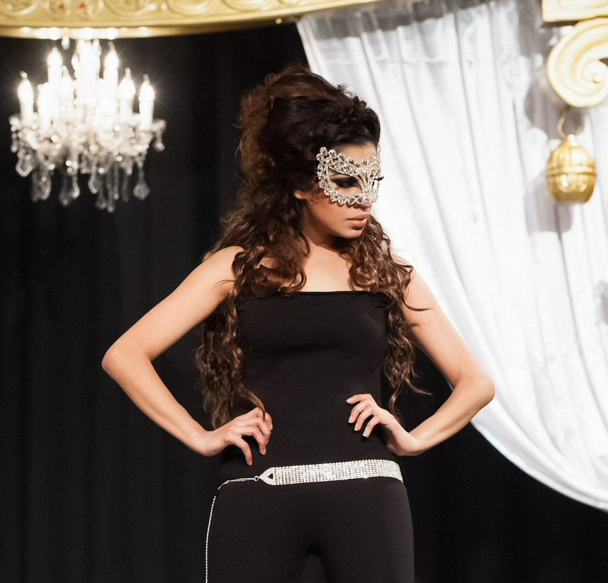 Fotoshoot en modeshow 'The Big Day' met Sadhana Lila in Leuningjes,Poeldijk