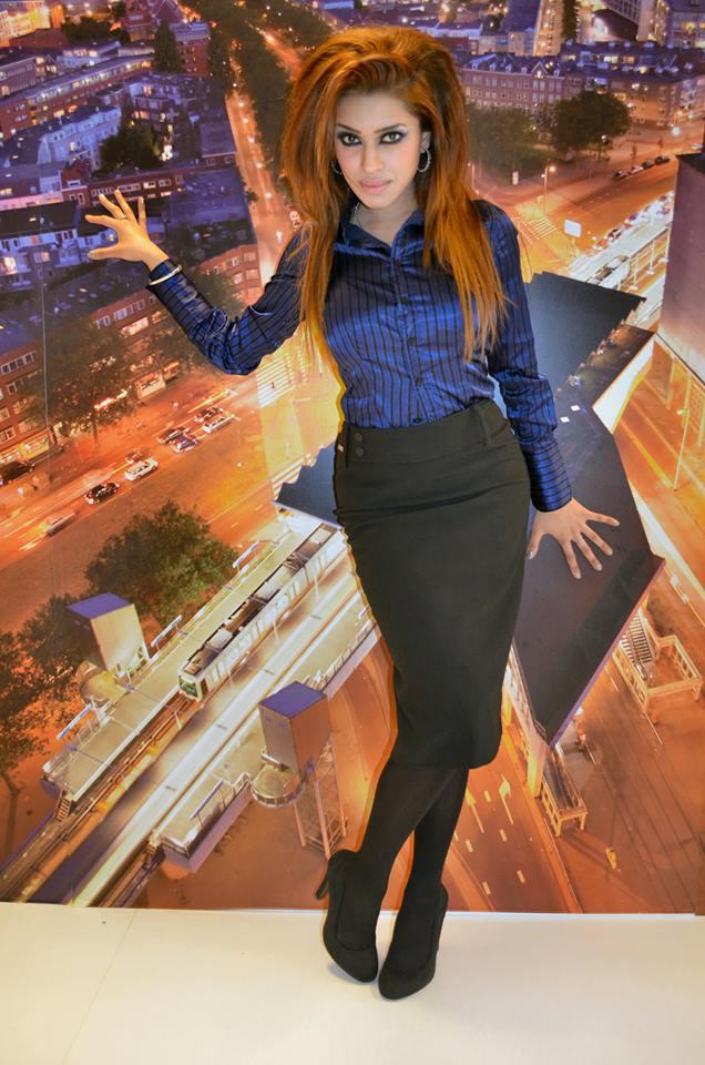 Fotoshoot Sadhana Lila voor '010 Administratie & Advies' inRotterdam