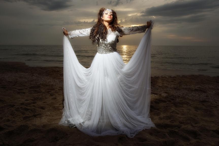 Fotoshoot Sadhana Lila met UniQue, Banarsi Bazaar & DCHPhotography in Monster, DenHaag