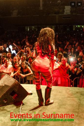 SNAPSHOTS: Sadhana Lila '2FAMOUSCRW live in NIS, Suriname tour 2014' door www.EventsInSuriname.com