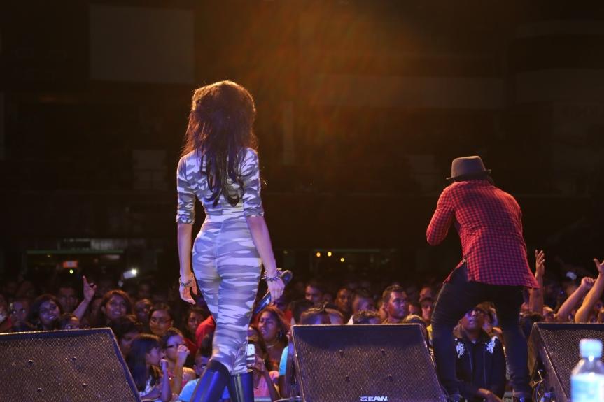 SNAPSHOTS: Sadhana Lila '2FAMOUSCRW live in NIS, Suriname tour2014'